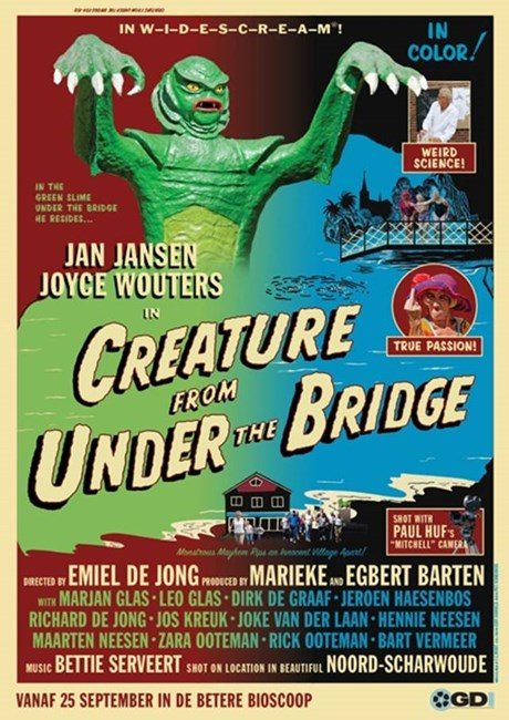 Poster GDI film The creature from under the bridge